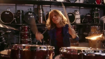 Guitar Center Holiday Sale TV Spot, 'Best Gift Ever Center: Drums & String' - Thumbnail 2