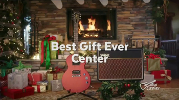 Guitar Center Holiday Sale TV Spot, 'Best Gift Ever Center: Drums & String' - Thumbnail 4