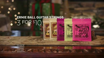 Guitar Center Holiday Sale TV Spot, 'Best Gift Ever Center: Drums & String' - Thumbnail 7