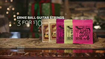 Guitar Center Holiday Sale TV Spot, 'Best Gift Ever Center: Drums & String' - Thumbnail 8