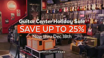 Guitar Center Holiday Sale TV Spot, 'Best Gift Ever Center: Drums & String' - Thumbnail 9