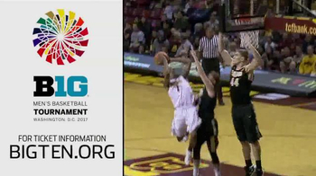 Big Ten Conference TV Spot, \'2017 Big Ten Men\'s Basketball Tournament\'