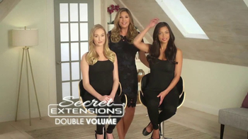 Secret Extensions Double Volume TV Spot, 'Infinite Looks' Ft. Daisy Fuentes - Thumbnail 1