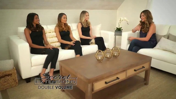 Secret Extensions Double Volume TV Spot, 'Infinite Looks' Ft. Daisy Fuentes