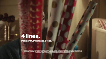Verizon TV Spot, 'Holiday Wrapping' - Thumbnail 4