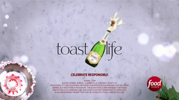 Korbel TV Spot, 'Food Network: Champagne Tips' - Thumbnail 10