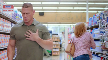 Hefty Ultra Strong TV Spot, 'Becoming Cena' Feat. John Cena, Rob Schneider