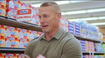 Hefty Ultra Strong TV Spot, 'Becoming Cena' Feat. John Cena, Rob Schneider - Thumbnail 5