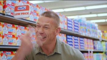 Hefty Ultra Strong TV Spot, 'Becoming Cena' Feat. John Cena, Rob Schneider - Thumbnail 6