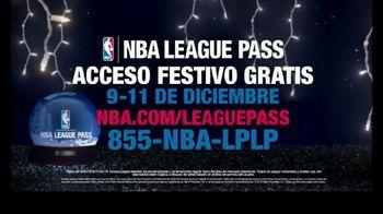 NBA League Pass TV Spot 'Acceso festivo gratis' [Spanish] - 55 commercial airings