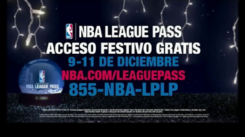 NBA League Pass TV Spot 'Acceso festivo gratis' [Spanish] - 55 commercial airings