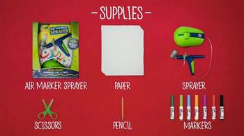 Crayola Air Marker Sprayer TV Spot, 'Nickelodeon: TMNT Masterpiece' - Thumbnail 1