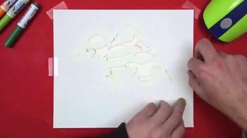 Crayola Air Marker Sprayer TV Spot, 'Nickelodeon: TMNT Masterpiece' - Thumbnail 3