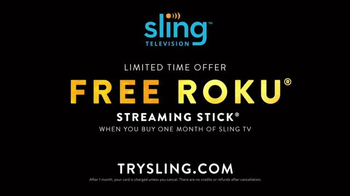 Sling TV Spot, 'Switch to Sling: Free Roku' Feat. Danny Trejo - Thumbnail 6