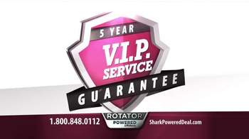 Shark Special Holiday Offer Sale TV Spot, 'Rotator Powered Lift-Away' - Thumbnail 9