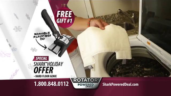 Shark Special Holiday Offer Sale TV Spot, 'Rotator Powered Lift-Away' - Thumbnail 8