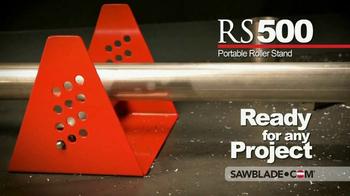 SawBlade.com RS500 Portable Roller Stand TV Spot, 'Enhance Your Cutting' - Thumbnail 3