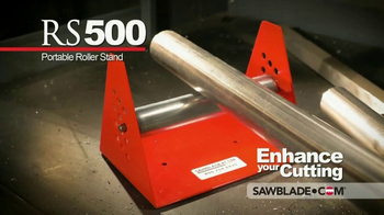 SawBlade.com RS500 Portable Roller Stand TV Spot, 'Enhance Your Cutting'