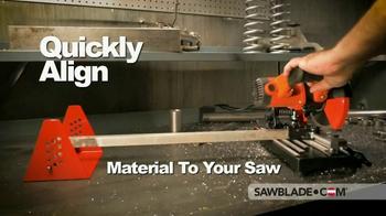 SawBlade.com RS500 Portable Roller Stand TV Spot, 'Enhance Your Cutting' - Thumbnail 2