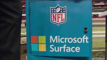 Microsoft Surface TV Spot, 'NFL Sidelines: Chiefs vs. Falcons' - Thumbnail 1