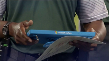 Microsoft Surface TV Spot, 'NFL Sidelines: Chiefs vs. Falcons' - Thumbnail 2