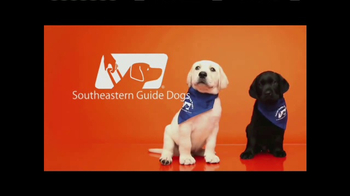 Southeastern Guide Dogs TV Spot, 'Meet Jackie and Gibson' - Thumbnail 9