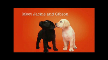 Southeastern Guide Dogs TV Spot, 'Meet Jackie and Gibson' - Thumbnail 2
