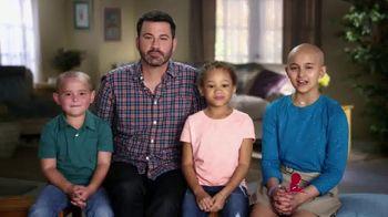 St. Jude Children's Research Hospital TV Spot, 'No Burden' Ft. Jimmy Kimmel - 75 commercial airings