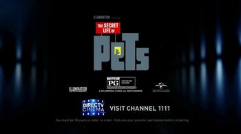 DIRECTV Cinema TV Spot, 'The Secret Life of Pets' - Thumbnail 8