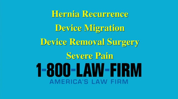 1-800-LAW-FIRM TV Spot, 'Medical Device Alert' - Thumbnail 2