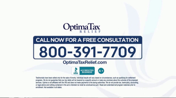 Optima Tax Relief TV Spot, 'Tax Debt to Rest' - Thumbnail 9
