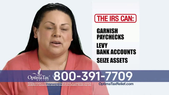 Optima Tax Relief TV Spot, 'Tax Debt to Rest' - Thumbnail 4