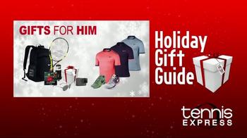 Tennis Express TV Spot, 'Holiday Gift Guide' - Thumbnail 2