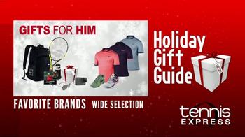 Tennis Express TV Spot, 'Holiday Gift Guide' - Thumbnail 3
