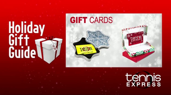 Tennis Express TV Spot, 'Holiday Gift Guide' - Thumbnail 5