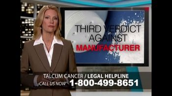Heygood, Orr and Pearson TV Spot, 'Talcum Cancer: Baby Powder'