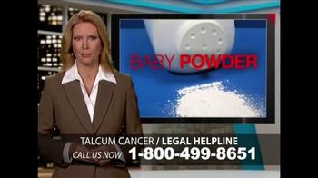 Heygood, Orr and Pearson TV Spot, 'Talcum Cancer: Baby Powder' - Thumbnail 1