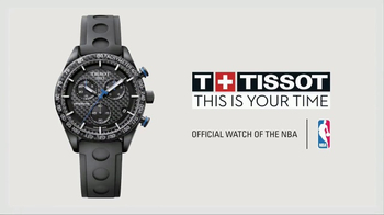 Tissot PRS 516 Watch TV Spot, 'NBA: On the Line' - Thumbnail 7