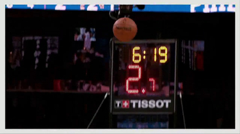 Tissot PRS 516 Watch TV Spot, 'NBA: On the Line' - Thumbnail 4