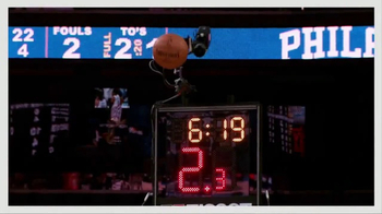 Tissot PRS 516 Watch TV Spot, 'NBA: On the Line' - Thumbnail 5
