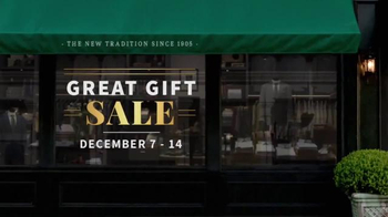 JoS. A. Bank Great Gift Sale TV Spot, 'Executive Suits & Dress Shirts' - Thumbnail 1