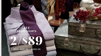 JoS. A. Bank Great Gift Sale TV Spot, 'Executive Suits & Dress Shirts' - Thumbnail 4
