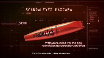 Rimmel London Scandaleyes Mascara TV Spot, 'Bold' Featuring Delevingne - Thumbnail 7