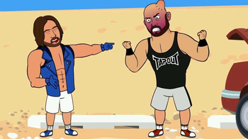 WWE Network TV Spot, 'WWE Story Time' - Thumbnail 7
