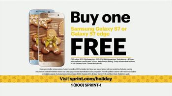 Sprint TV Spot, 'The Best Unlimited Plan This Holiday: Galaxy S7 Edge' - 98 commercial airings