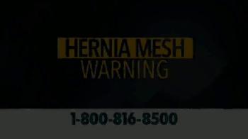Crumley Roberts TV Spot, 'Hernia Mesh Warning' - Thumbnail 1