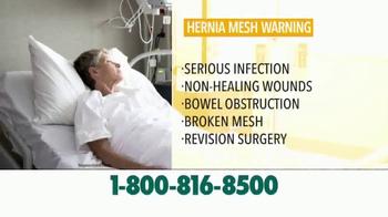 Crumley Roberts TV Spot, 'Hernia Mesh Warning' - Thumbnail 7