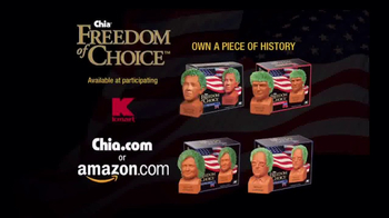 Chia Pet Freedom of Choice TV Spot, 'Obama and Trump' - Thumbnail 10