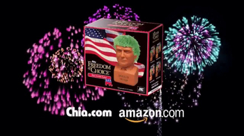 Chia Pet Freedom of Choice TV Spot, 'Obama and Trump' - Thumbnail 5