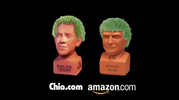Chia Pet Freedom of Choice TV Spot, 'Obama and Trump' - Thumbnail 6